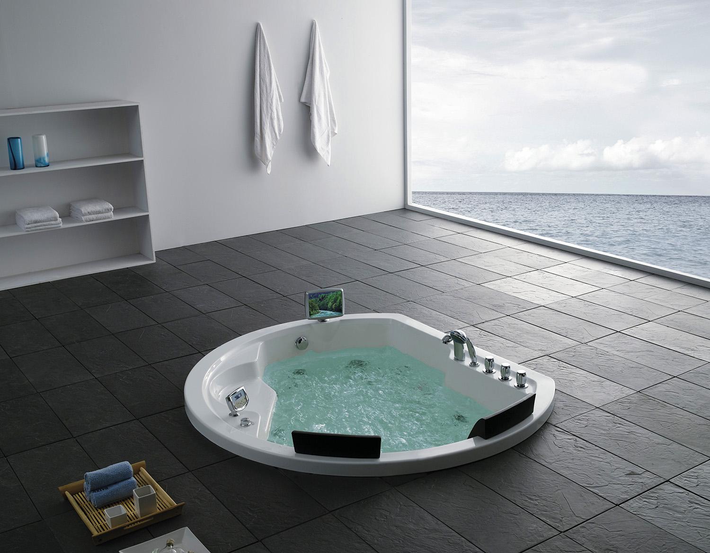Акриловая ванна Gemy G9053 K обложить ванную комнату мозаика
